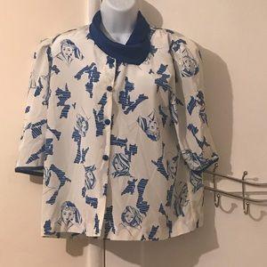 Unique vintage blouse